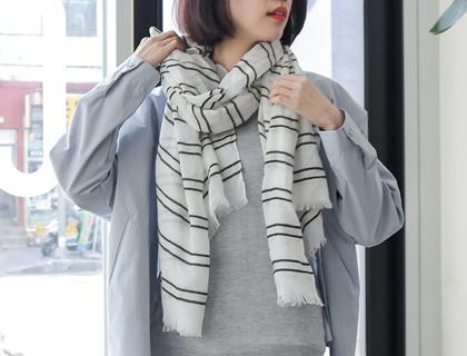 你會幾種圍巾的繫法呢?